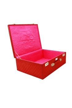 Red & pink mevar mahal trunk