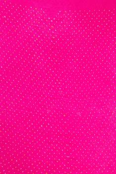 Pink & purple banarasi bandhani saree with unstitched blouse