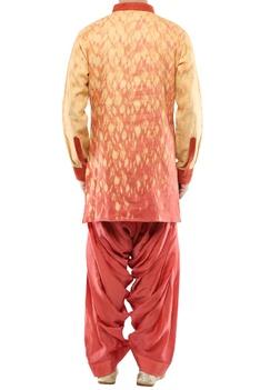 Linen rope dye short kurta