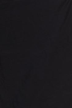 Black & gold handloom chanderi silk saree with unstitched blouse