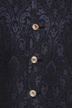 Silk nehru jacket