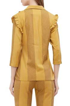 Victorian style ruffled shirt