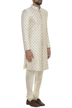 Resham Embroidered Sherwani Set