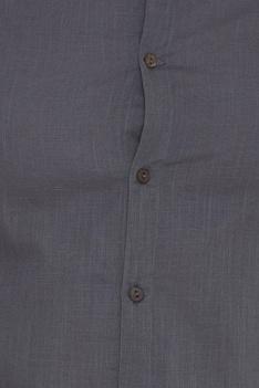 Cotton Back box pleated shirt