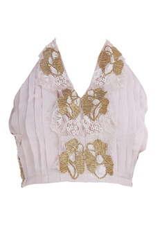 Net gota embroidered lehenga set