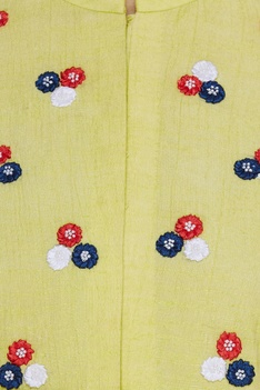 Floral embroidered kurta