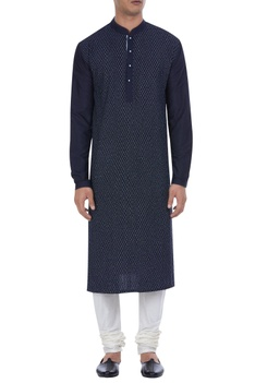 Pintuck details knee length kurta