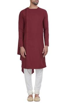 Overlap layered style kurta