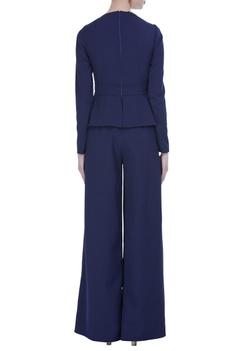 Long flared jumpsuit