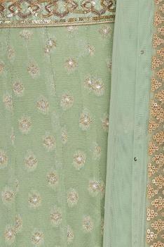 Sequin & gota patti embroidered lehenga set