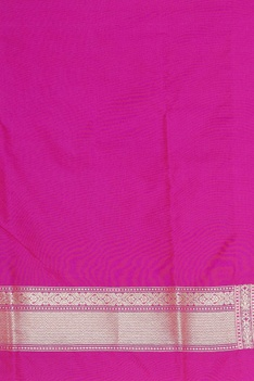 Banarasi silk woven sari with unstitched blouse