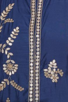 Front slit jacket with lehenga & dupatta