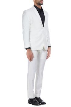 Italian wool notch lapel blazer with pants