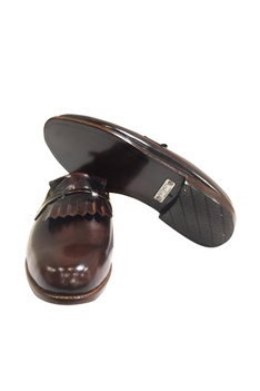 Handcrafted pure leather mules