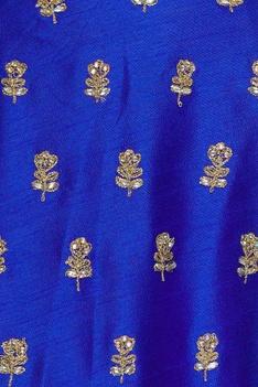 Zari embroidered lehenga set
