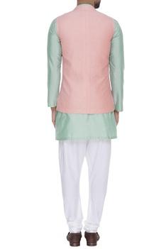 Hand textured waistcoat