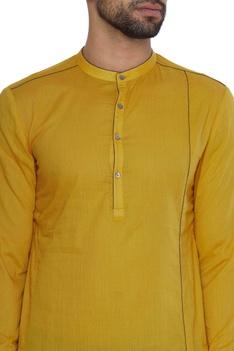 Short cotton kurta