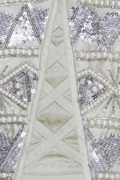 Layered lehenga & embroidered blouse