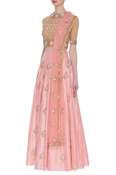 Sequin & dori embroidered lehenga set