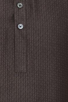 Criss cross detail shirt kurta