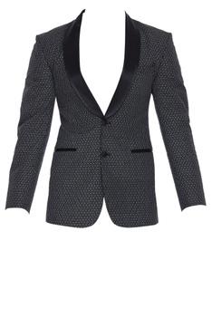 Embroidered blazer jacket