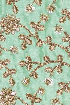 Embroidered lehenga set