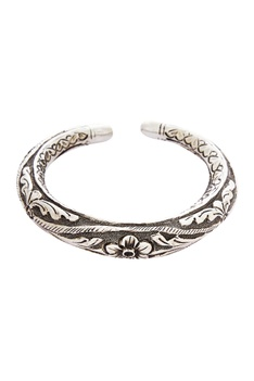 Cuff bangle crafted in tribal design