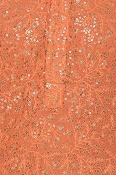 Sequin embroidered kurta set