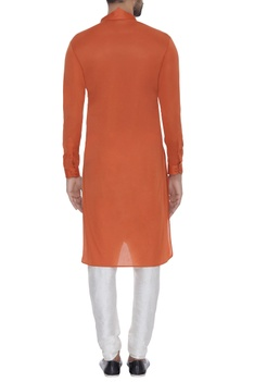 Asymmetric full sleeves kurta