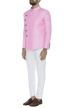 Bandhgala with straight pants