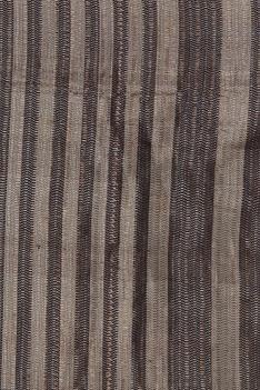 Striped kattan silk sari with unstitched blouse