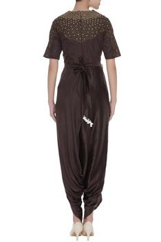 Zardozi embroidered jumpsuit