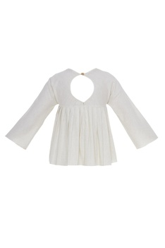 Pleated flared top