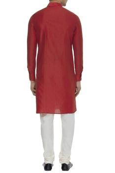 Cotton silk kurta