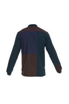 Cotton panel shirt