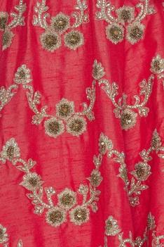 Zari & zurcon embroidered lehenga set
