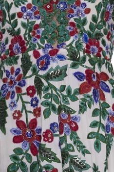 Resham embroidered anarkali kurta