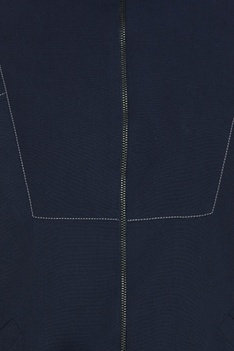 Bomber jacket with stripe detail