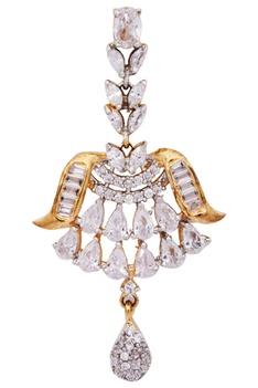 Stone encrusted Necklace set