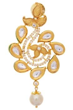 Pearl & Kundan necklace Set