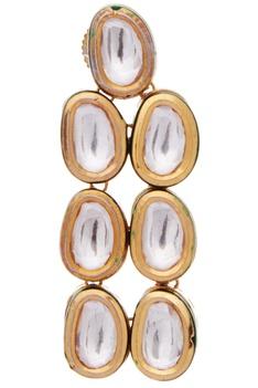 Layered Kundan & Pearl Necklace Set
