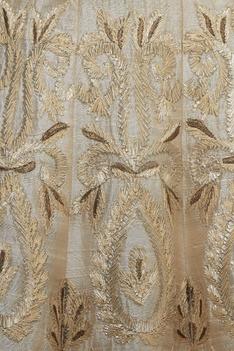 Layered flared sleeves blouse & lehenga set
