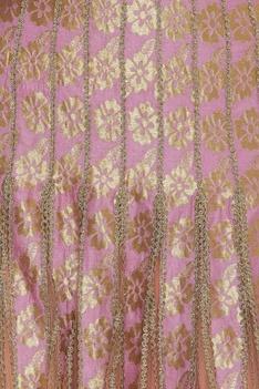Gold dori embroidered lehenga set