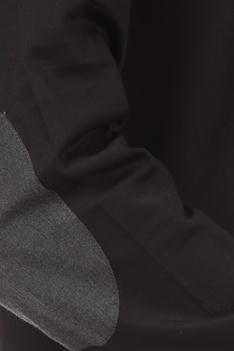 Elbow patch regular fit shirt