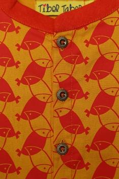 Bird Print kurta Dhoti pant Set