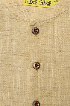 Floral Embroidered Dhoti pant & Kurta Set