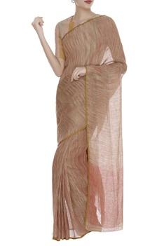 Textured Linen Saree