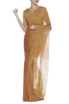 Zari Embroidered Saree