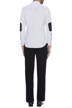 Patchwork full sleeves shirt