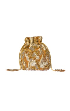 Gold & silver potli bag